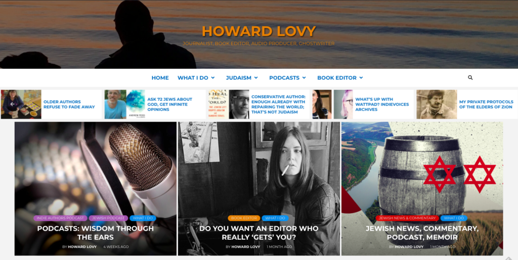 Howard Lovy Homepage